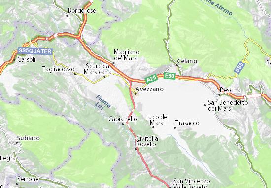 Carte-Plan Avezzano