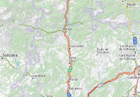 Mapas-Planos Gironella