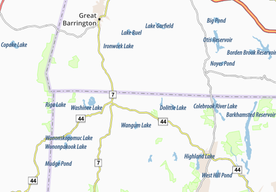 Map of canaan valley michelin canaan valley map viamichelin canaan valley map sciox Choice Image