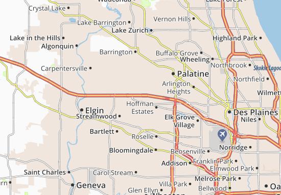 Hoffman Estates Map