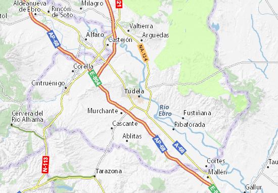 Tudela Map