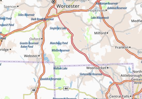East Douglas Map