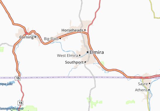 Mappe-Piantine West Elmira