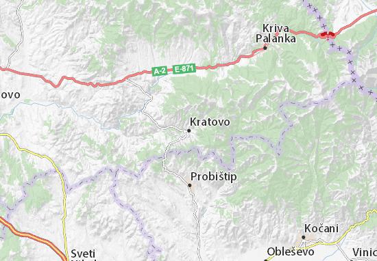 Kratovo Map