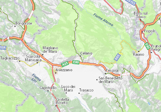 Carte-Plan Celano