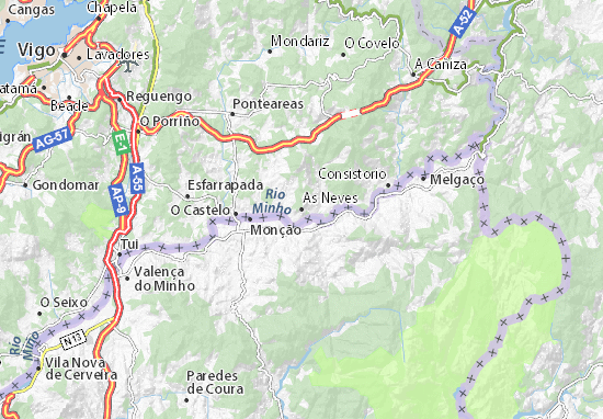 As Neves Map