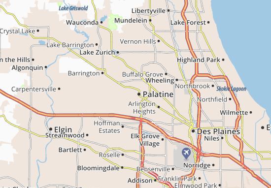 Palatine Map