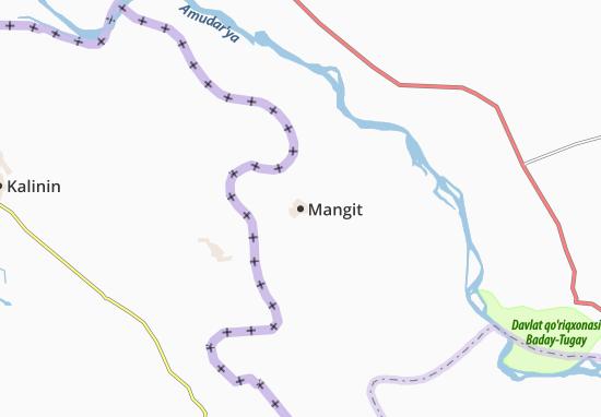 Carte-Plan Mangit