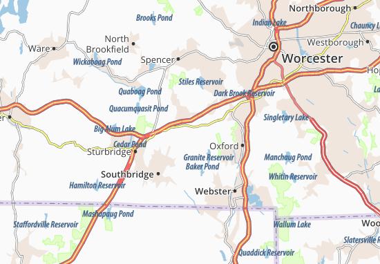 Charlton Map