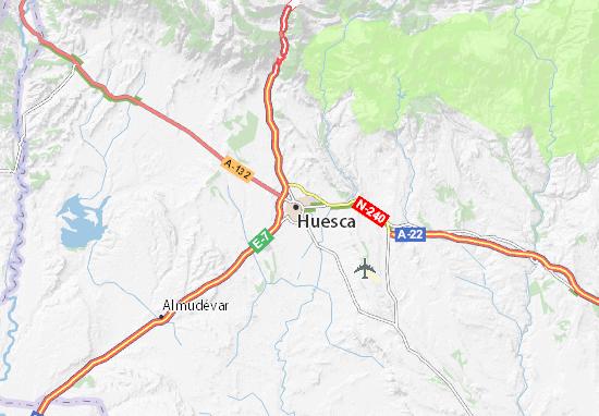 Mapas-Planos Huesca