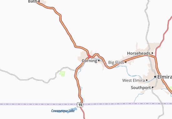 Gang Mills Map