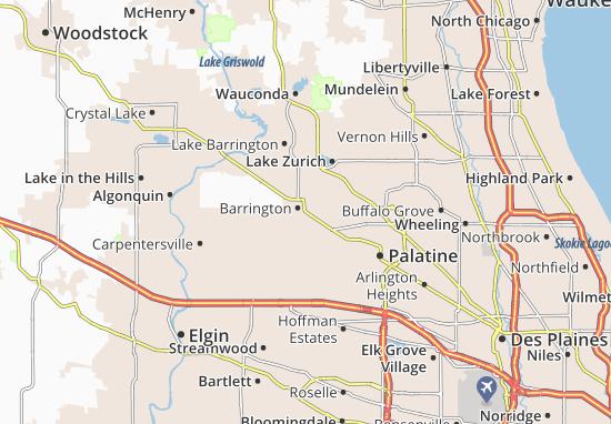 Barrington Map
