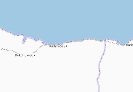 Kadzhi-Say Map