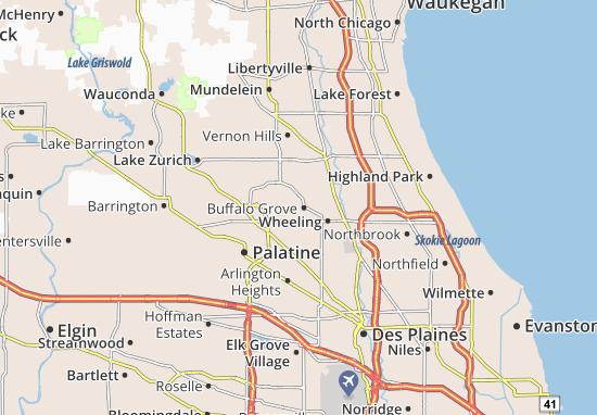 Mappe-Piantine Buffalo Grove