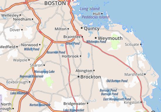 Mapas-Planos Holbrook