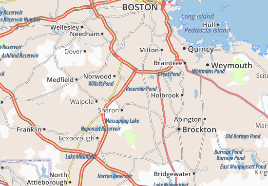 Canton Map