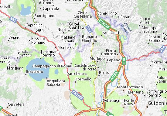 Cartina Italia Romana.Mappa Michelin Magliano Romano Pinatina Di Magliano Romano Viamichelin