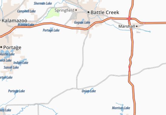 East Leroy Map