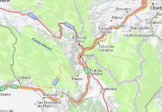 Popoli Map