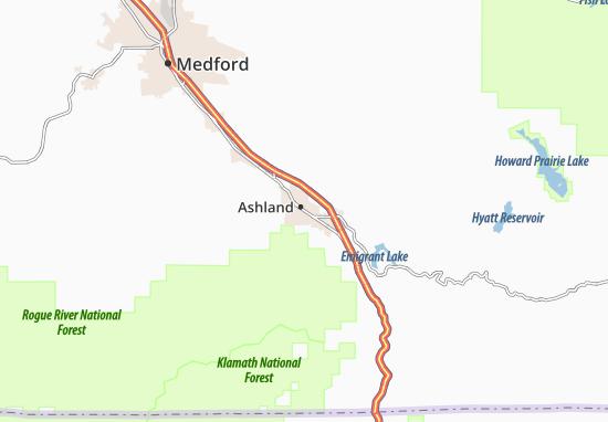 Ashland Map