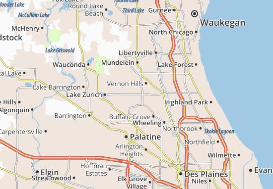 Mapas-Planos Long Grove