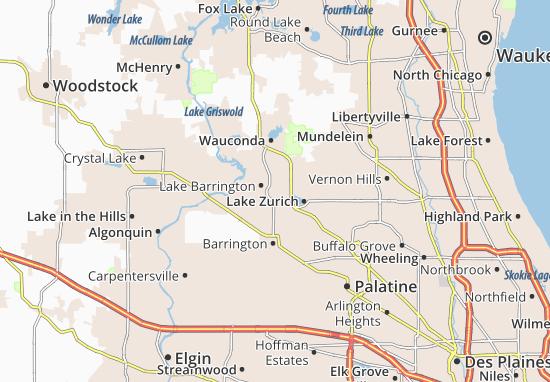 North Barrington Map