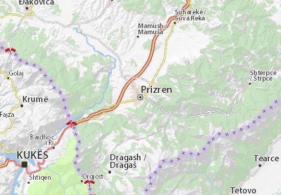 Mappe-Piantine Prizren