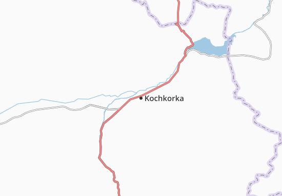 Mapa Plano Kochkorka