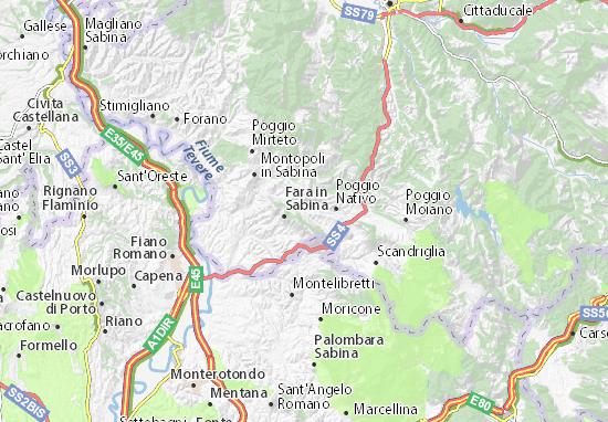 Mappe-Piantine Toffia