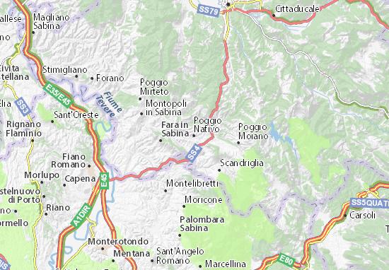Poggio Nativo Map