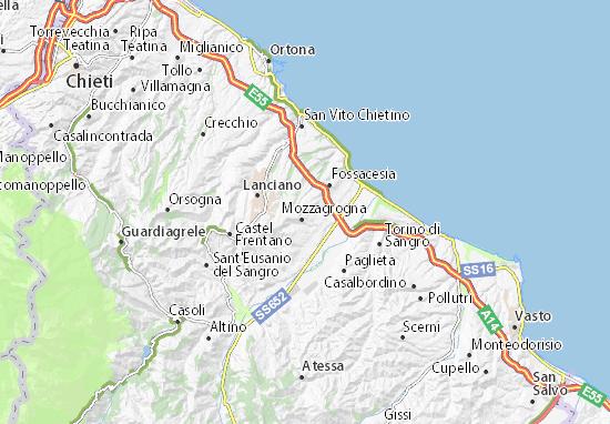 Mappe-Piantine Santa Maria Imbaro