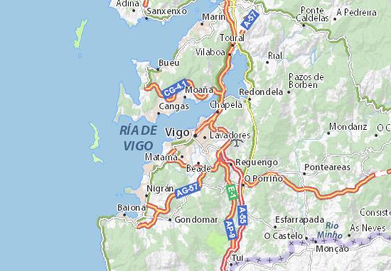 Mapas-Planos Vigo