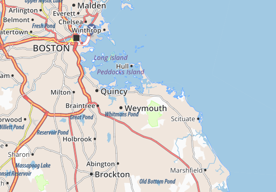 Hingham Map