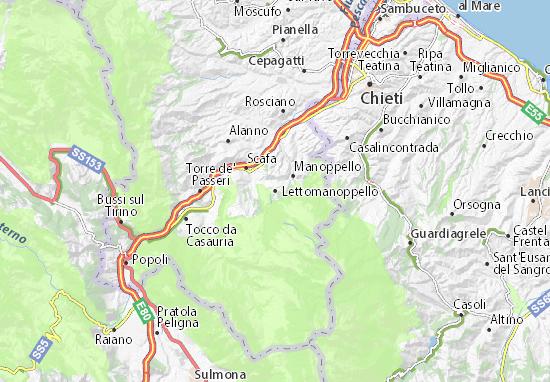 Mappe-Piantine Lettomanoppello