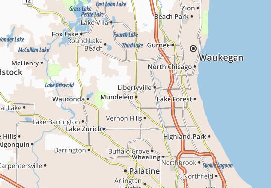Mundelein Map