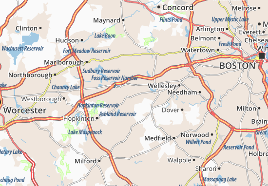 Framingham Map