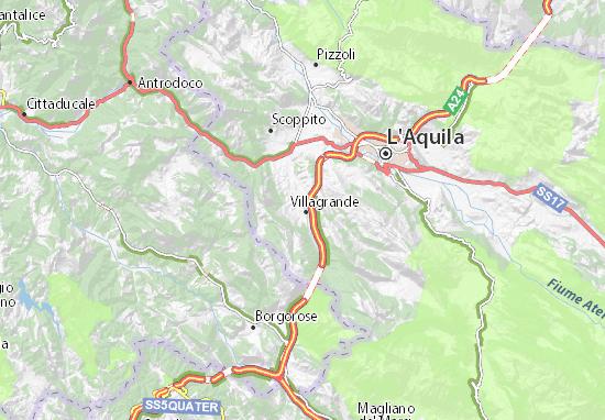 Villagrande Map