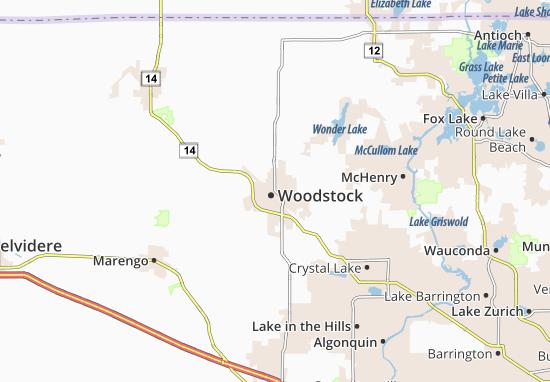 Woodstock Map