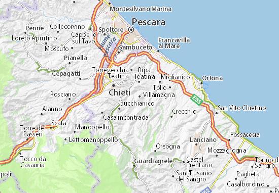 Mappe-Piantine Villamagna
