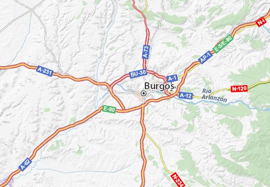 Burgos Map