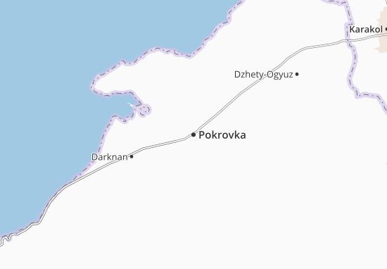 Mapa Plano Pokrovka