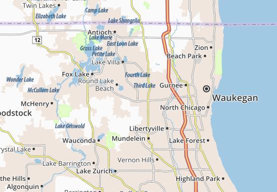 Grayslake Map
