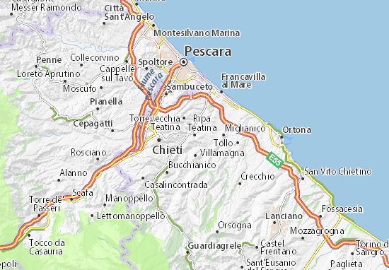 Mappe-Piantine Ripa Teatina