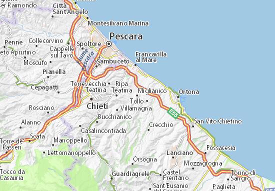 Mappe-Piantine Miglianico