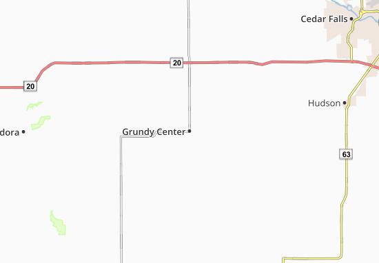 Carte-Plan Grundy Center