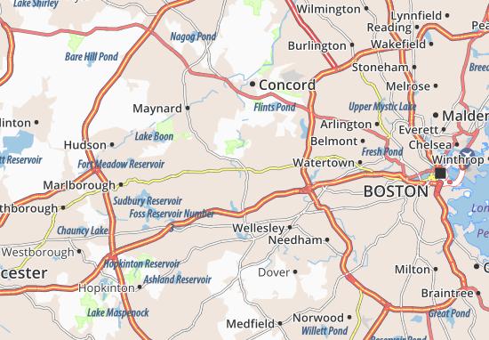 Wayland Map
