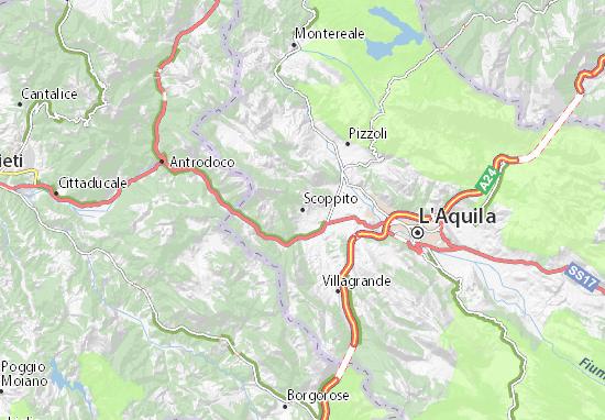 Scoppito Map