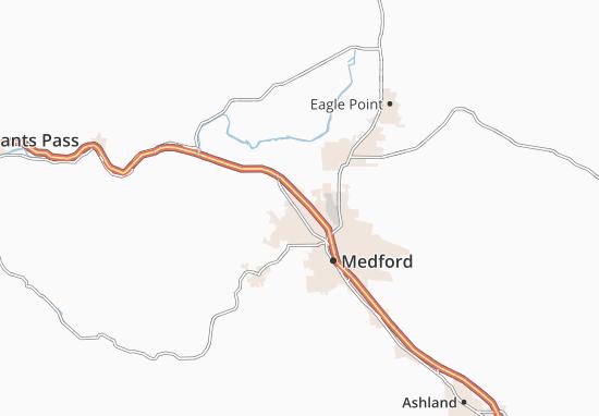 Mapas-Planos Central Point