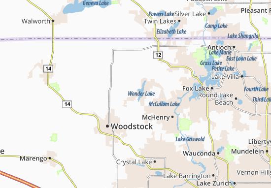 Wonder Lake Map