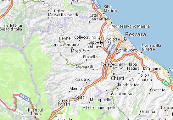 Mappe-Piantine Pianella